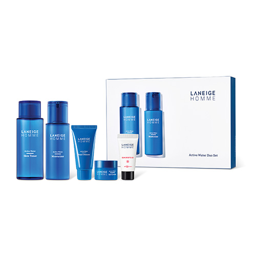 [E][Laneige] Blue Energy Duo Set 180+125+15+30+15ml (Weight : 395g)