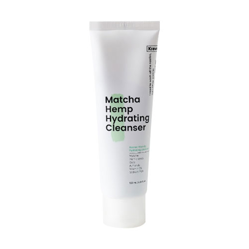 [Kravebeauty] Matcha Hemp Hydrating Cleanser 120ml (Weight : 240g)