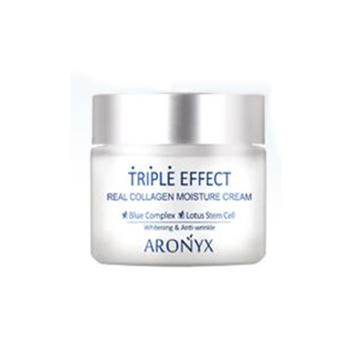[E][Aronyx] Triple Effect Real Collage Moisture Cream 50ml (Weight : 80g)