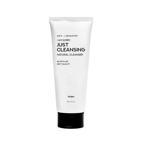 [B-LAB] I Am Sorry Just Cleansing Cleansing Foam 150ml (Weight : 250g) | MYKOCO.COM