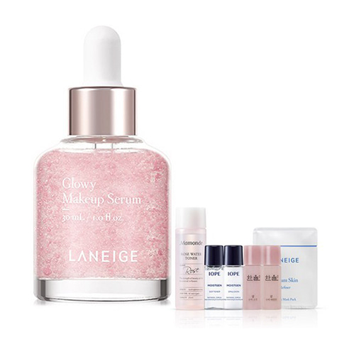 [Laneige] Glowy Make Up Serum 30ml + Amore Pacific Small Kit (Weight : 80g + 125g)