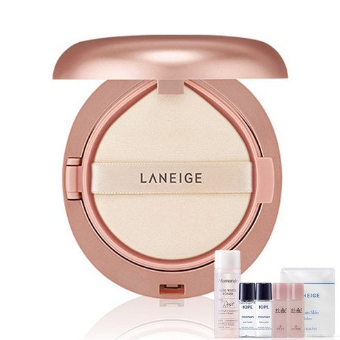 [Laniege] Layering Cover Cushion #11 Porcelain 16.5g + Amore Pacific Small Kit (Weight : 60g + 125g)