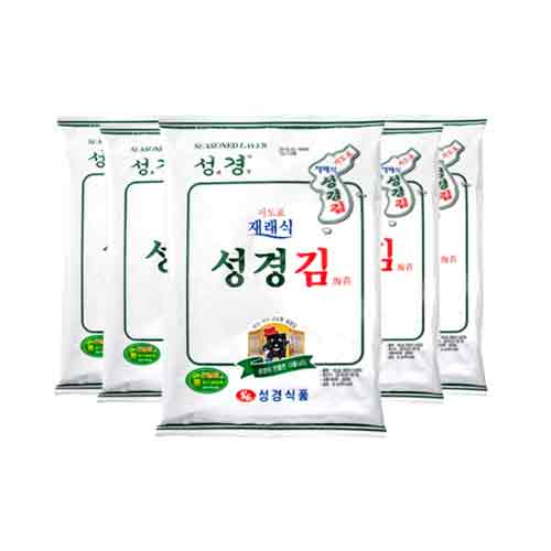 Sunggyung Seasoned Laver 30g X 5EA (Weight : 200g)
