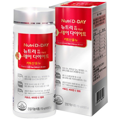 [Nutri D-Day] Diet Chitosan All New 67.5g (Weight : 90g)