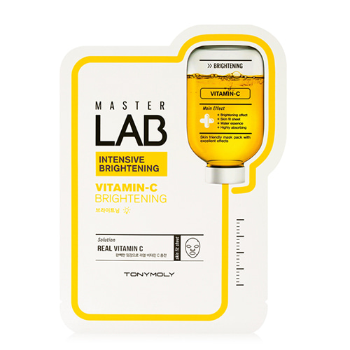 [Tonymoly] Master Lab Vitamin C Mask Sheet 18g